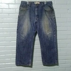 Levis 569 Loose/Straight used work jeans